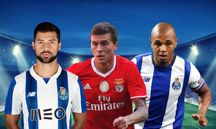 8f5fc04e83c74e Inter e Juventus in missione per Benfica-Porto
