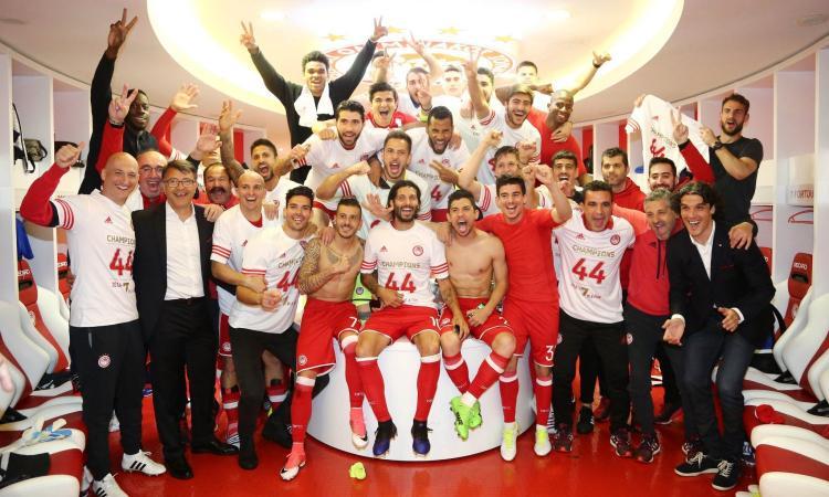 Olympiacos, 19 titoli in 21 anni: da noi, se le rivali della Juve non si svegliano...