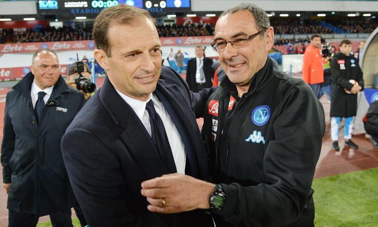 Comanda Allegri, Sarri batte cassa: gli stipendi degli allenatori di Serie A