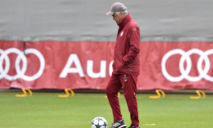 Ancelotti: 'I nostri giovani sono il futuro del Bayern' VIDEO