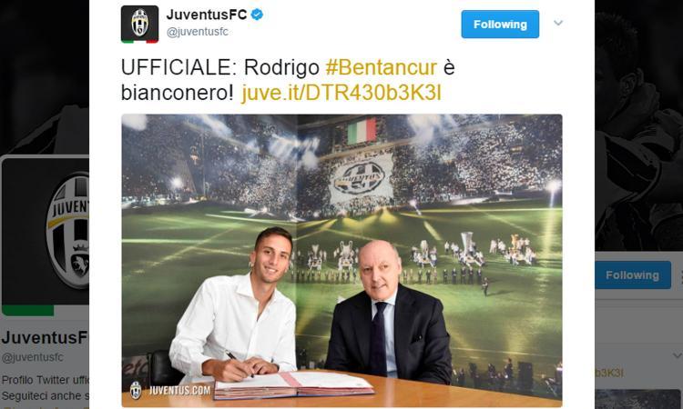Juve, UFFICIALE Bentancur. Tutte le cifre, ha firmato fino al 2022