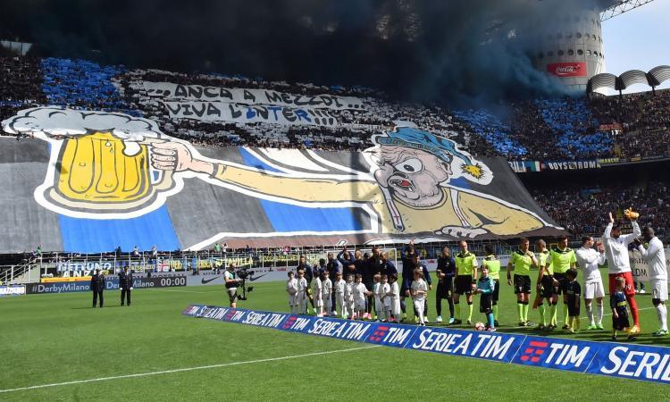 Inter, ci sarà la coreografia nel derby col volto dell'ultrà Belardinelli: 'Decisivo il via libera di Salvini'