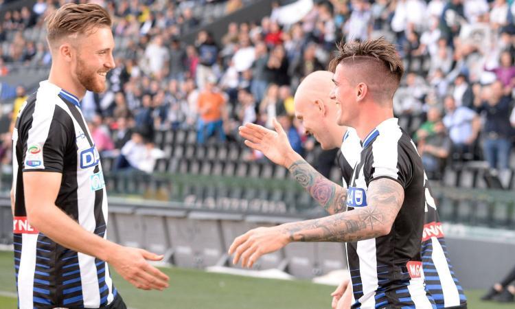 Udinesemania: regalato Felipe tenete almeno Widmer