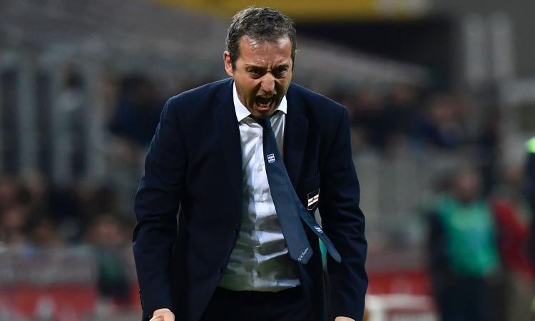 Sampdoria, confronto Giampaolo-Ferrero nel post partita; e il mister non parla