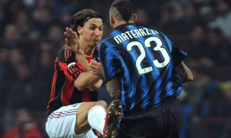 Il duello con Julio Cesar, Materazzi in ospedale: il Milan si aggrappa a Ibra contro l'Inter