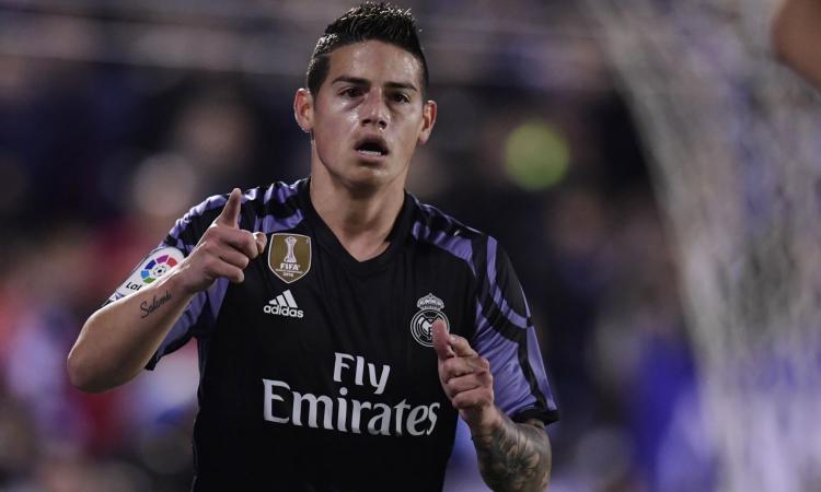 Inter, Ausilio incontra Mendes: c'è James Rodriguez sul piatto
