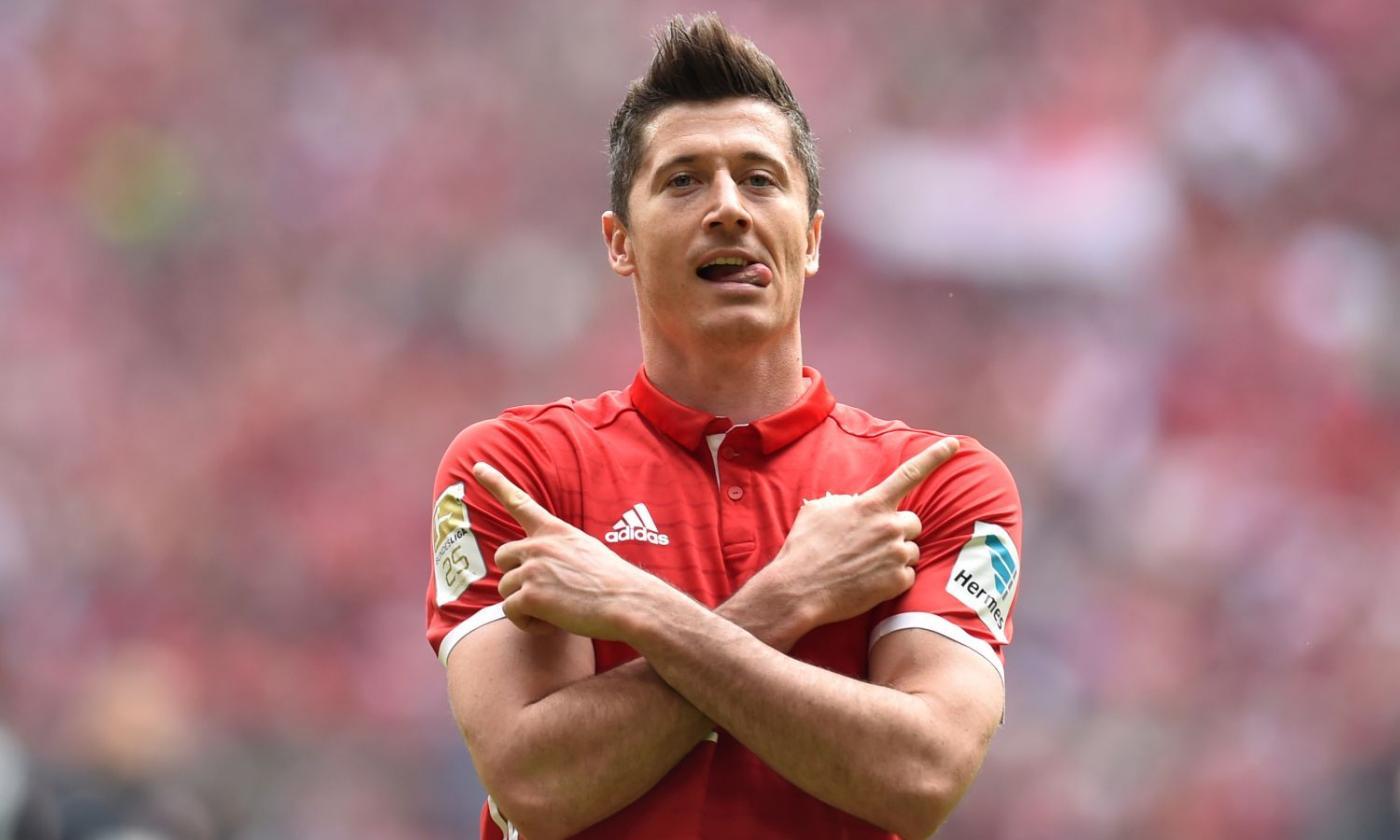 Bayern Monaco, Lewandowski lascia l'allenamento: in dubbio col ...