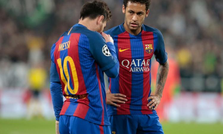 Barcellona, Neymar: 'Messi è il migliore di tutti'