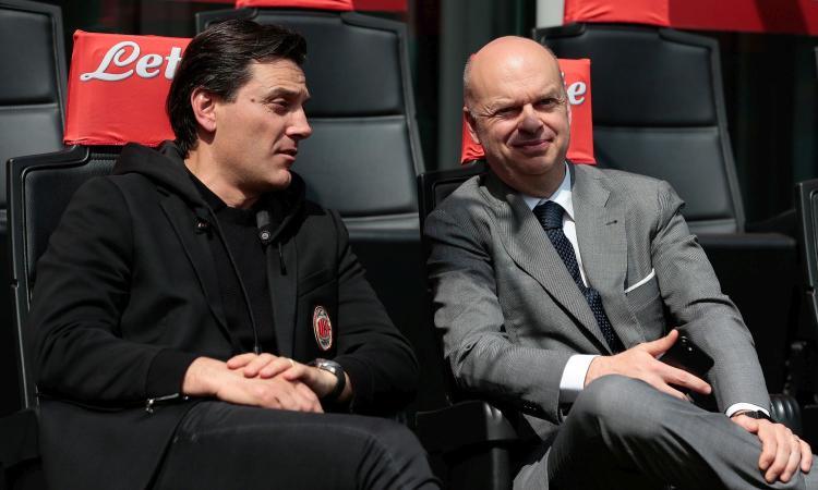 Milan, Fassone: 'Ci aspettavamo più punti. Su Montella e Champions...'
