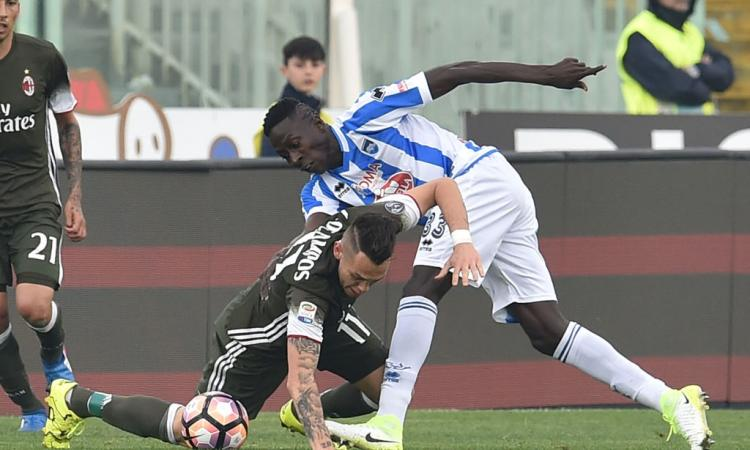 Udinese: Coulibaly cambia squadra