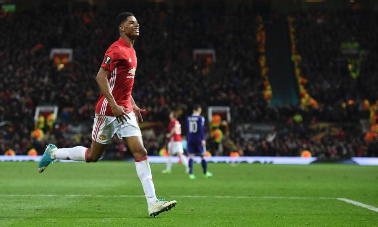 Europa League: Rashford qualifica il Man United, avanti Ajax e Celta. Il Lione elimina il Besiktas ai rigori