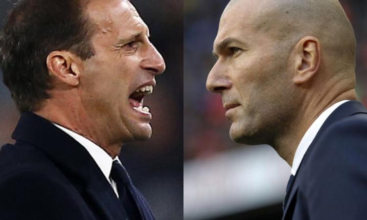 Allegri nella lista del Real, Zidane si avvicina alla Juve: il patto di sangue tra Perez e Agnelli passa anche da qui