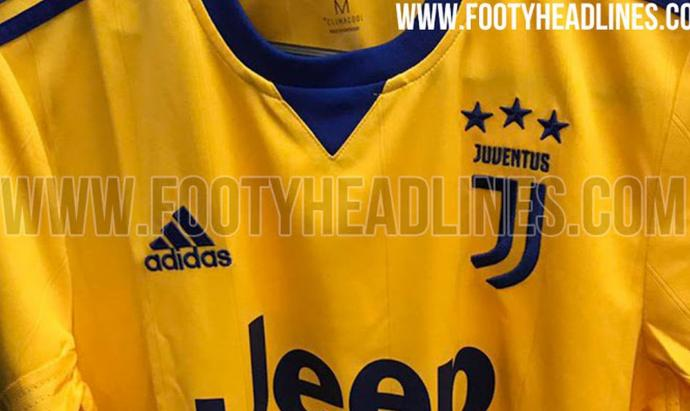 brand new 3f7be 88f7b Revealed - The new Juventus away shirt for 2017-18 (Photo ...