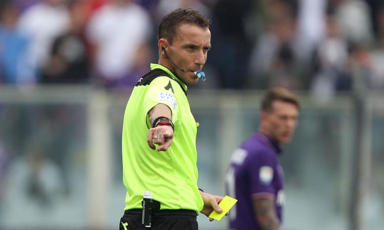 Crotone-Sampdoria: scopri i 6 arbitri