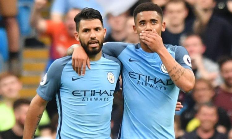Manchester City-Everton, le formazioni ufficiali: coppia Aguero-Jesus