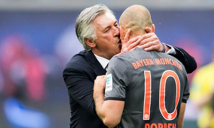 Bayern, Robben duro su Ancelotti: 'Mio figlio fa allenamenti migliori'