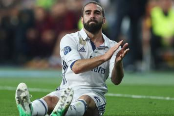 carvajal, real madrid, infortunio, 2016/17