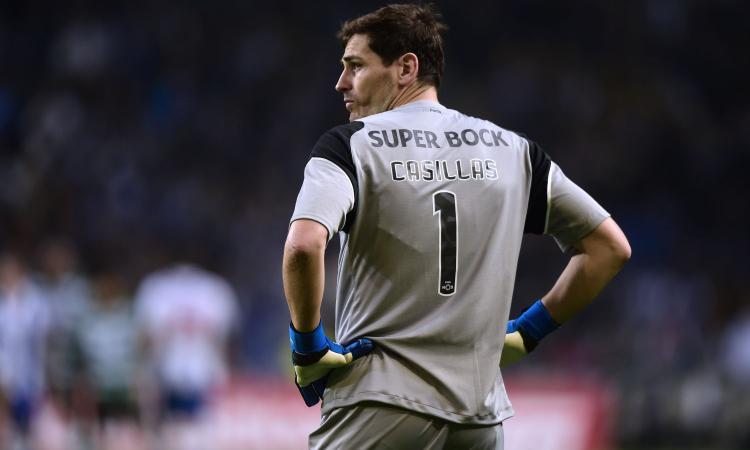 Casillas: ai ferri corti con il Porto