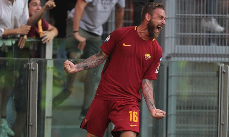 Roma: problemi fisici per De Rossi, con l'Atalanta è pronto Gonalons