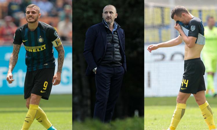 CLAMOROSO: AUSILIO ATTACCA / 2 'All'Inter non c'è gruppo per questioni di etnie ed età, tanti pensano per sé. Puntiamo su un allenatore alla Conte'