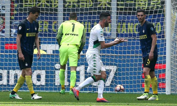 Sassuolo, il saluto a Iemmello: 'Indimenticabile la doppietta all'Inter'