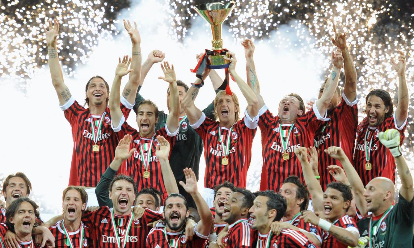 Milan, 6 anni fa l'ultimo scudetto: c'è ancora la Roma, l'Europa è un  obbligo   Primapagina   Calciomercato.com