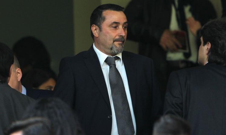 Milan, l'agente Riso in sede