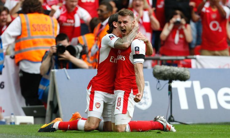 Arsenal, Ramsey: 'Sappiamo quanto è forte il Milan ma dobbiamo andare in Champions'