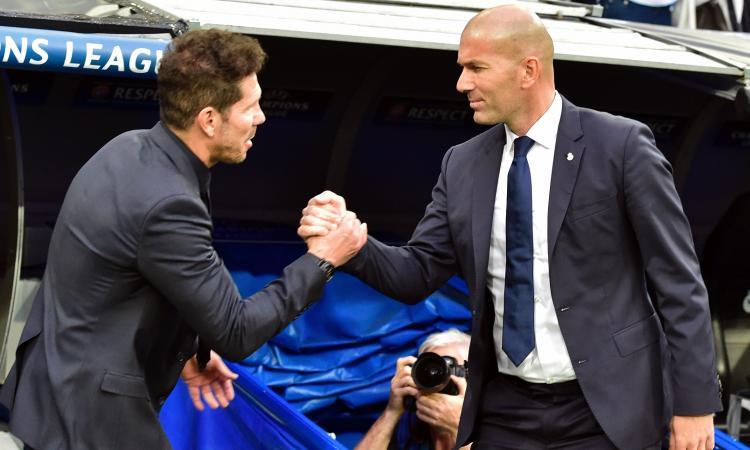 Stipendi allenatori: Zidane vale mezzo Simeone