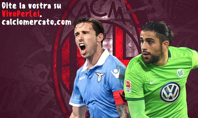 Inizia la settimana di Rodriguez e Biglia: il Milan ha fretta, i dettagli