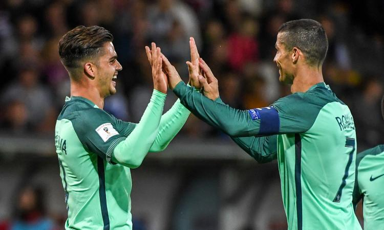 Portogalo-Svizzera, le formazioni ufficiali: Andrè Silva contro Shaqiri