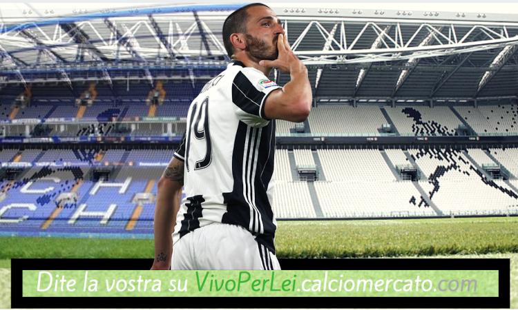 Da VivoPerLei, un tifoso della Juve: 'Bonucci al Milan, a chi conviene?'