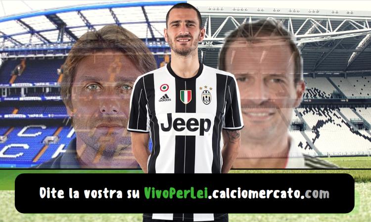 Il Chelsea prepara l'offerta per Bonucci