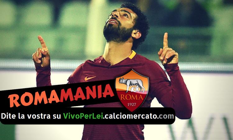 Romamania: va via Salah e tutti felici, ma quando vinciamo senza Momo?