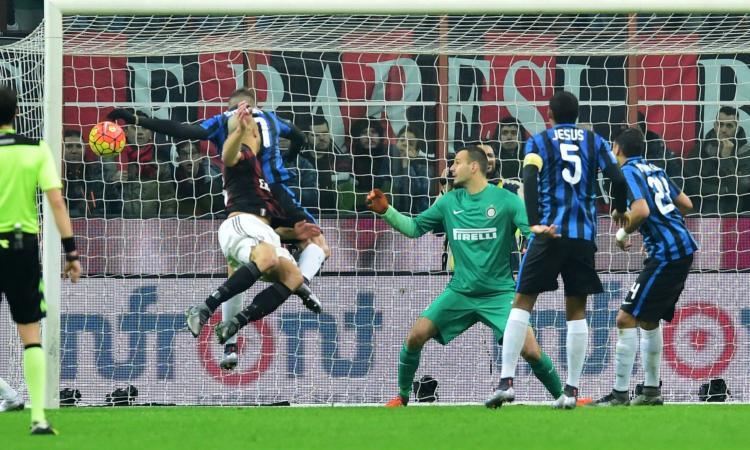 Verso Milan-Inter: i gol di testa sono la chiave del derby