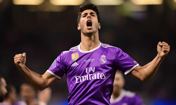 Inter, suggestione Asensio dal Real Madrid
