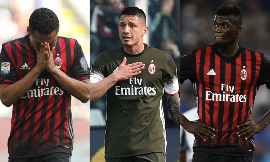 Milan, da Bacca a Niang: tutti i giocatori sul mercato!