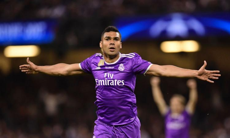 Casemiro: può lasciare il Real Madrid a giugno