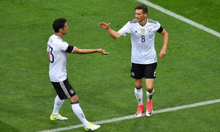 Confederations Cup: disastro Leno, ma la Germania vince 3-2 con l'Australia