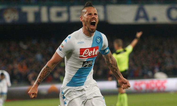 Napoli, Hamsik: 'Ounas? Diamogli tempo. Sul Milan...'