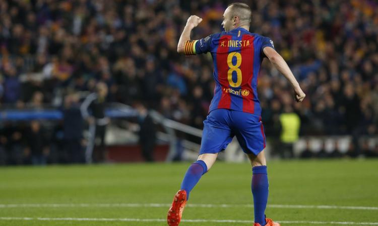 Iniesta: l'interesse di Inter e Juventus e quella promessa fatta al Barcellona