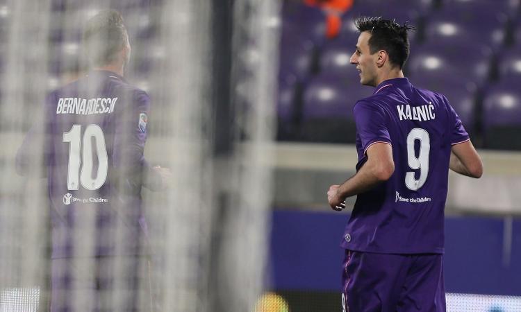 Fiorentina, Kalinic via dal ritiro per motivi personali: vuole il Milan