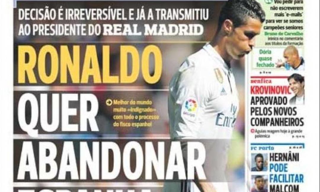 Il povero Cristiano Ronaldo