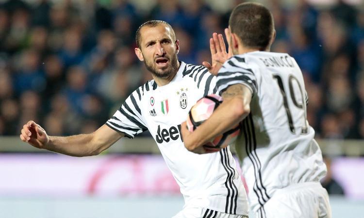 Juve, Chiellini e l'addio di Bonucci: 'Abbiamo superato Pirlo e Vidal...'
