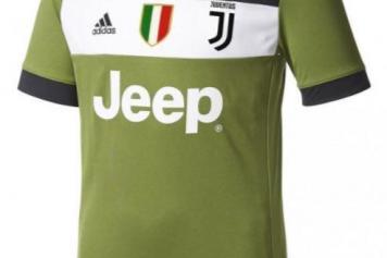 cheaper e453b 1b39d Pics - Juventus release their new third kit for 2017-18 ...
