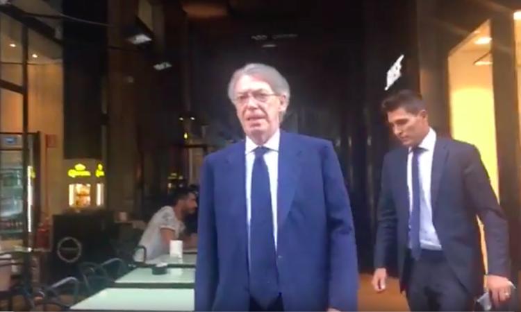 Juve, senti Moratti: 'Questo è l'anno del Napoli'