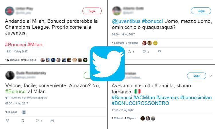 Bonucci, il web diviso: juventini furiosi, milanisti in paradiso TUTTE LE FOTO