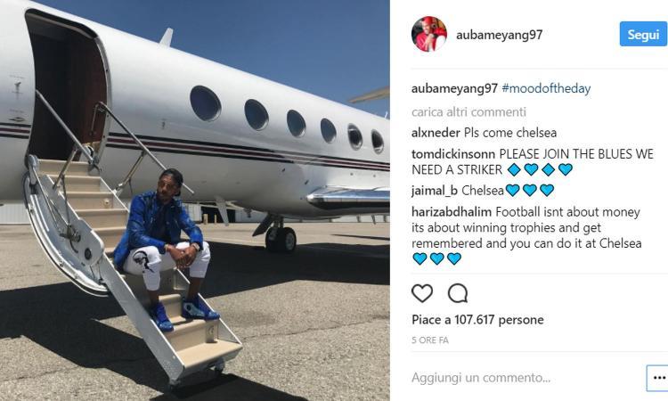 Aubameyang, la Cina è più lontana: il Milan ci prova, ma lui si veste di Blue...