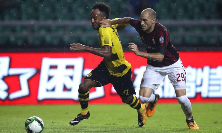 Aubameyang, il fratello Willy: 'Forza Borussia Dortmund, dobbiamo vincere ancora la Coppa di Germania'