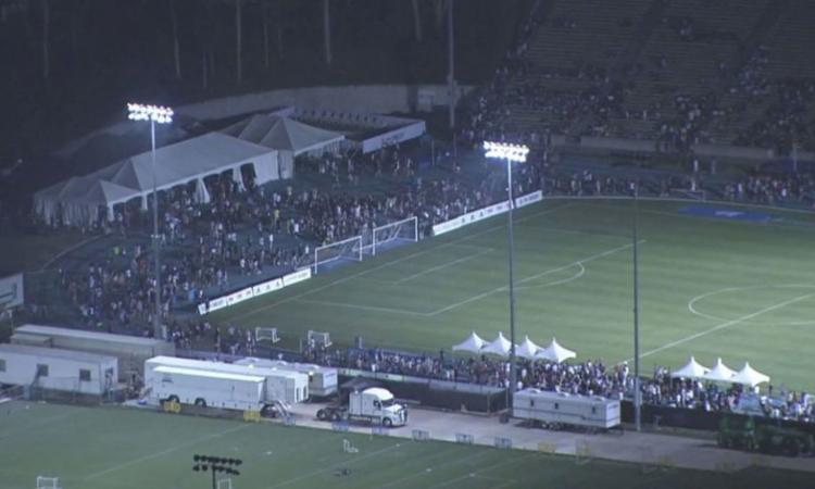 Allarme bomba all'UCLA: evacuato il campo d'allenamento del Real Madrid